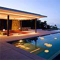 Lumière d'ambiance - Des soirées agréables dans et autour de la piscine